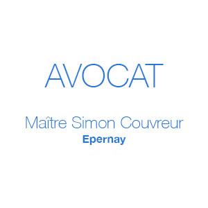 Logo avocat Maitre Simon Couvreur