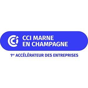 Logo de la Chambre de Commerce et de l'Industrie de la Marne